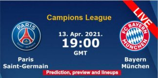 PSG vs Bayern Champions League live streaming
