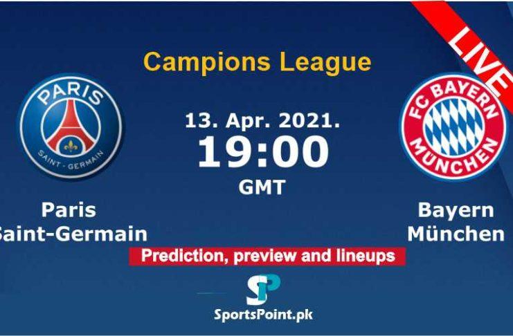 PSG vs Bayern Champions League live streaming