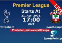 Tottenham vs Southampton live streaming