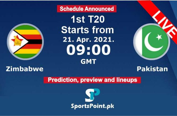 Zim vs Pak 2021 T20 Live streaming