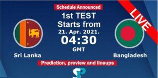 sri lanka vs bangladesh test live streaming