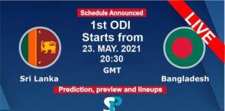 Bangladesh vs Sri Lanka 2021