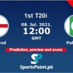 England vs pakistan 2021 live streaming