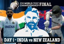 India vs New Zealand live